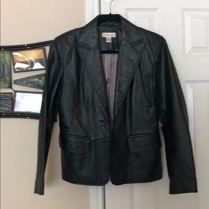 100% Leather jacket by Worthington